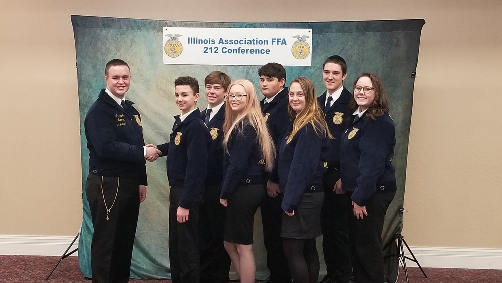 FFA Members Attend 212 Conference
