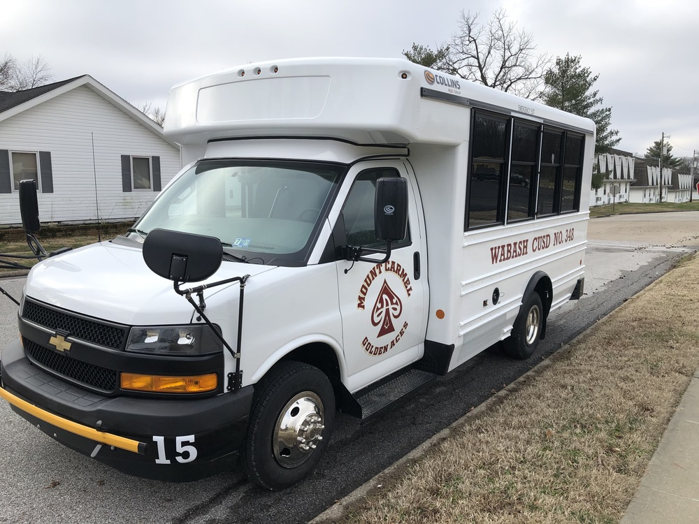 Wabash CUSD #348 Purchases Two Activity Buses