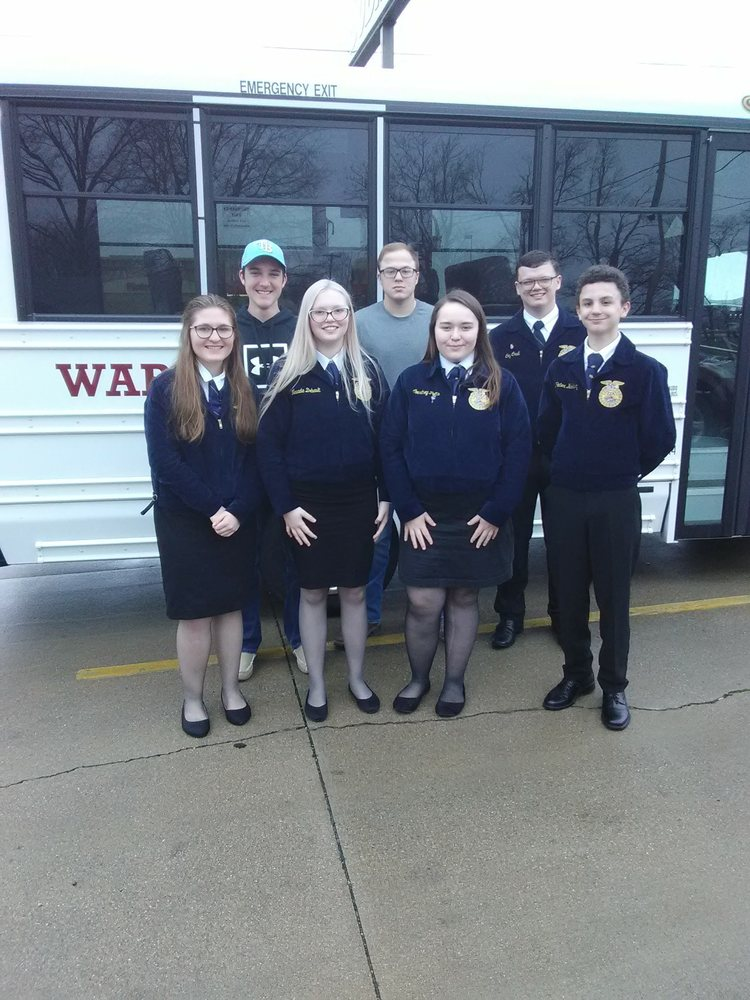 Mt. Carmel FFA Attends Section Public Speaking and Varsity Quizbowl Contests