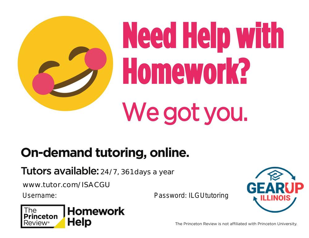 On-demand tutoring, online