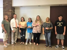 Wabash Health Department Activity Pass Winners